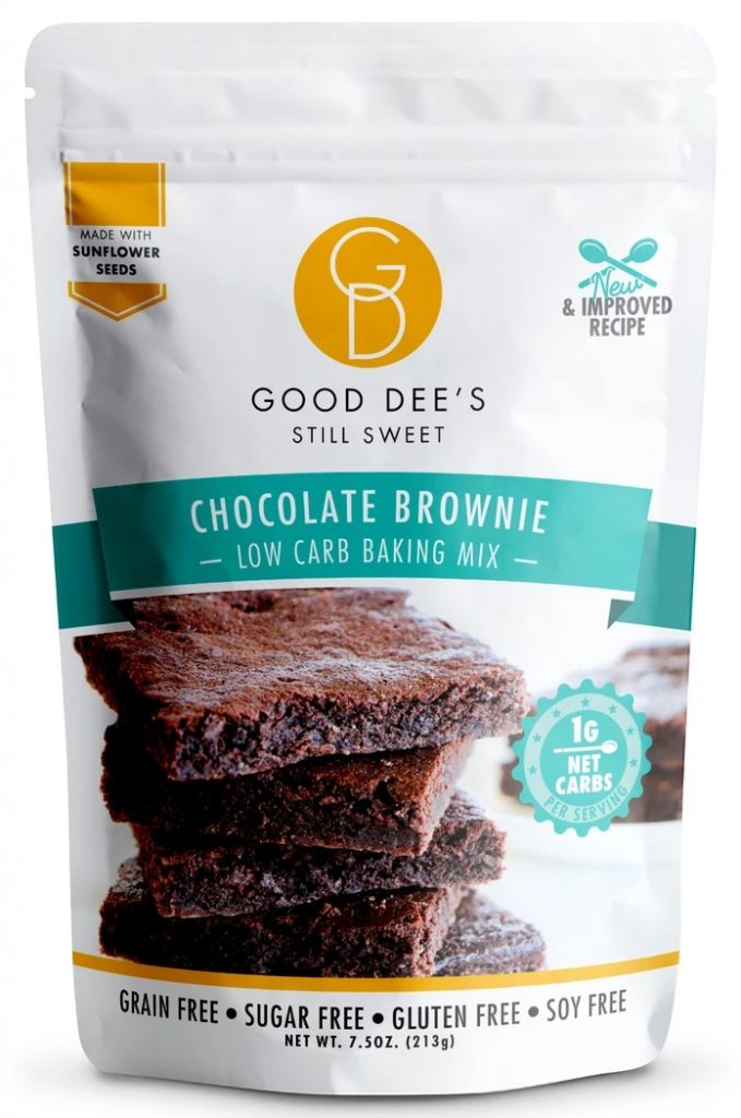 Good Dee's Chocolate Brownie Low Carb Baking Mix