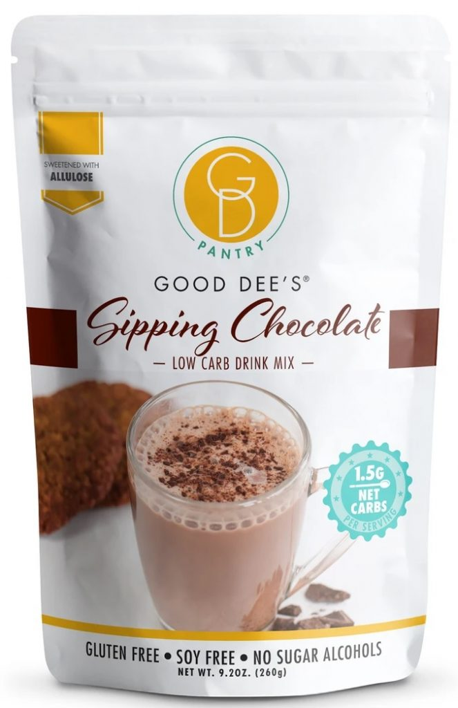 Good Dee's Sipping Chocolate Low Carb Drink Mix