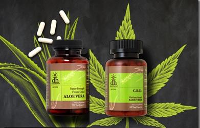 Super-Strength Aloe Vera Capsules & CBD Capsules