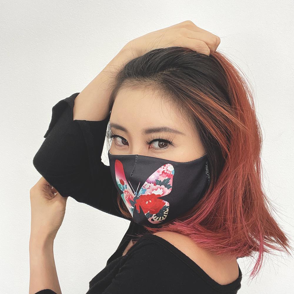 Mirai Clinical Butterfly Face Fashion Mask