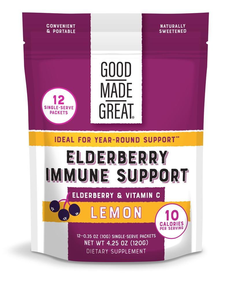 Good Made Great Elderberry Immune Support