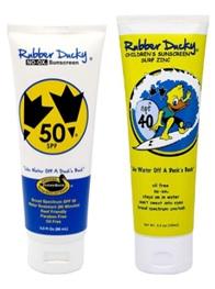 Rubber Ducky Sunscreen